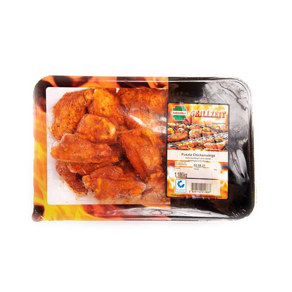 Astenhof Grillzeit Puszta Chickenwings