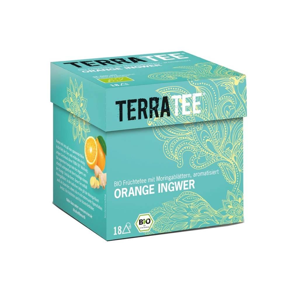 Terratee Bio Früchtetee Orange Ingwer