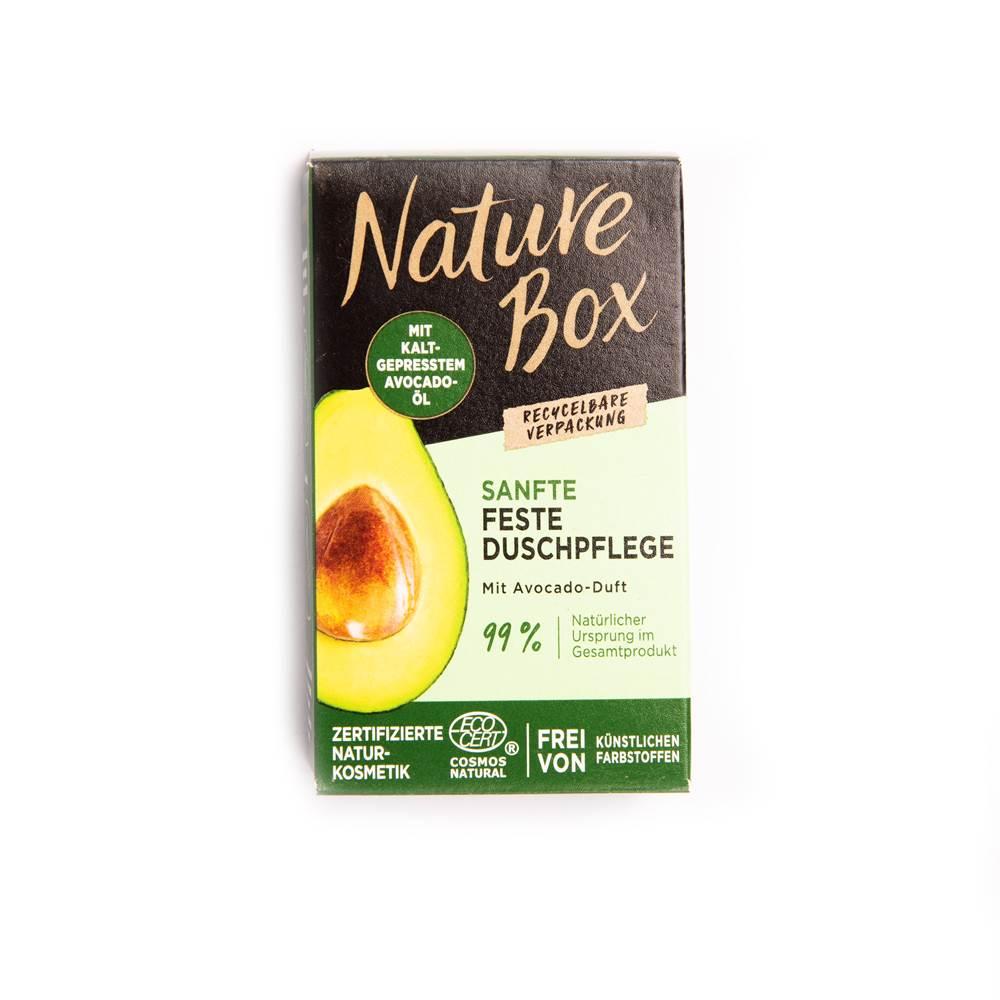 Nature Box Sanfte Feste Duschpflege mit Avocado-Duft