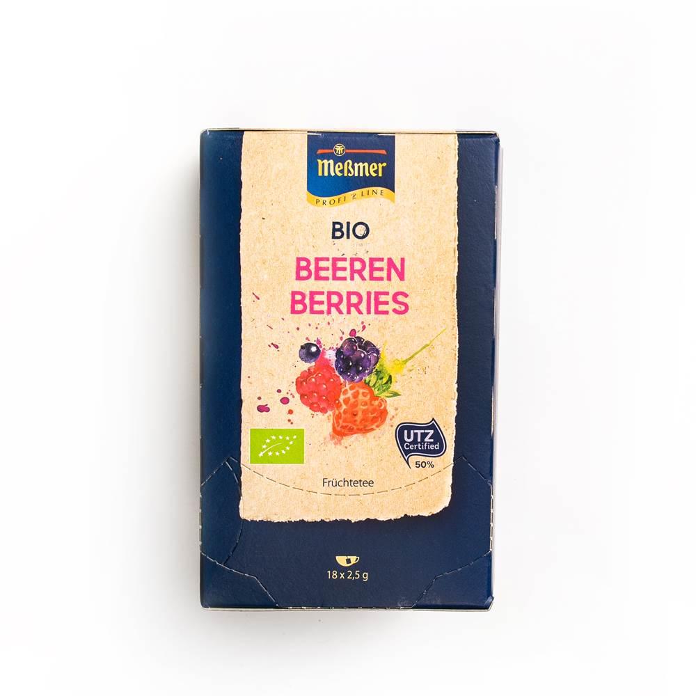 Meßmer Bio Beeren-Tee ´Profiline´