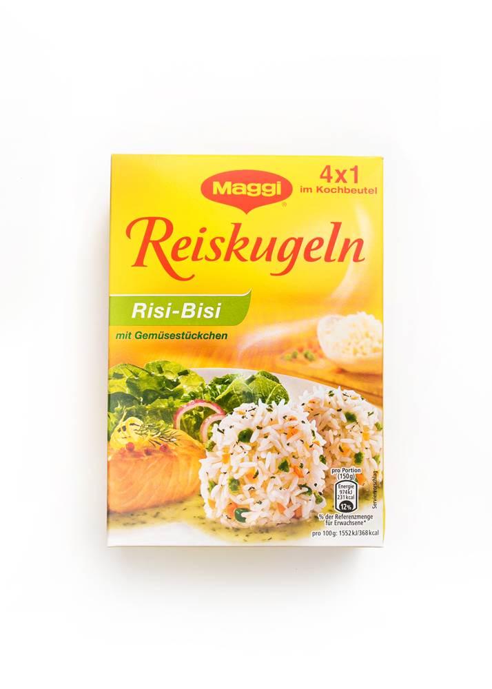 Maggi Reiskugeln Risi Bisi mit Gemüsestückchen