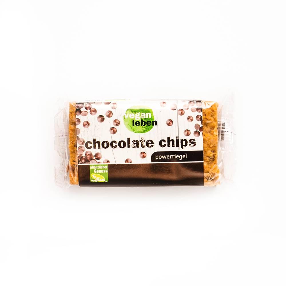 Vegan Leben Powerriegel Chocolate Chip