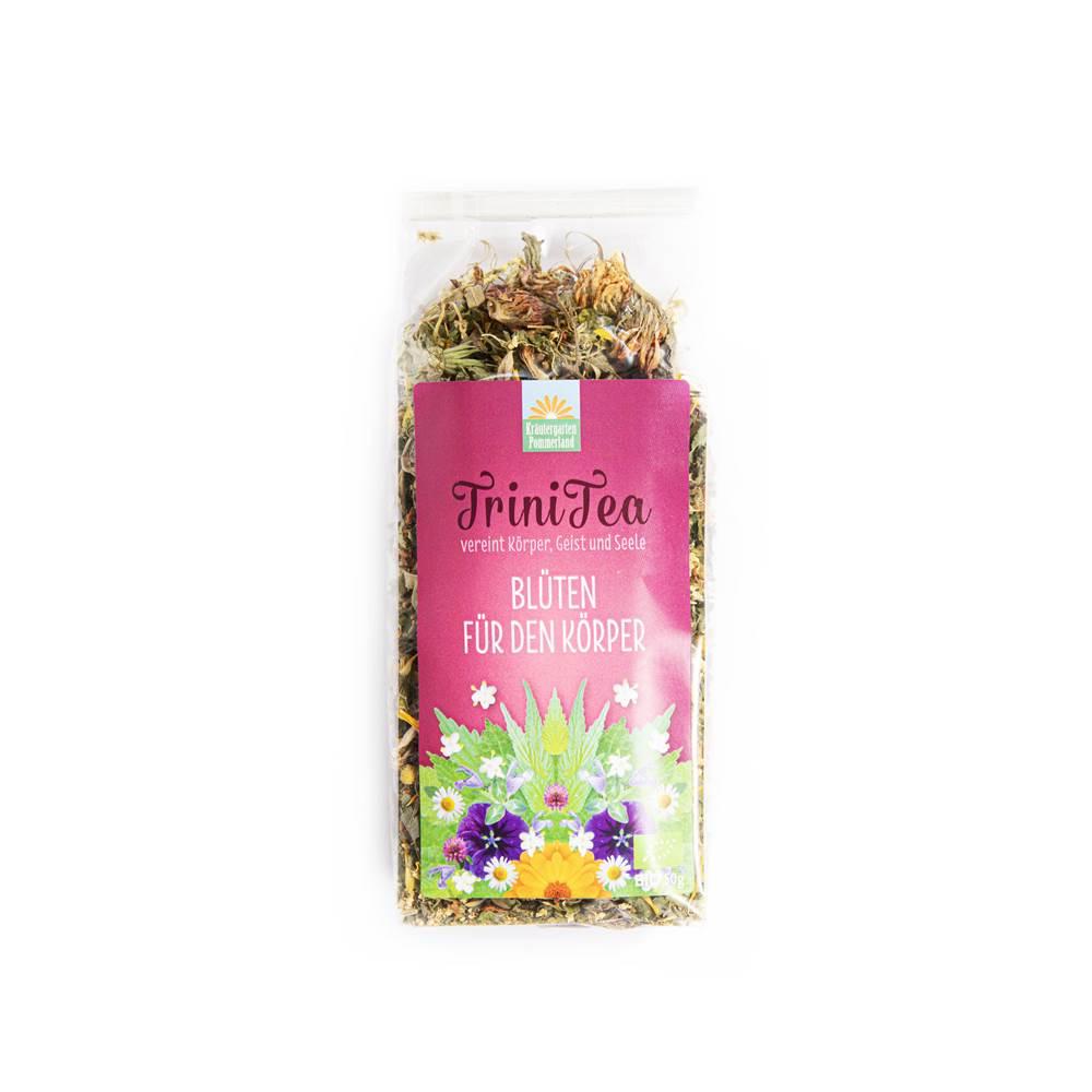 Trinitea Blüten für den Körper