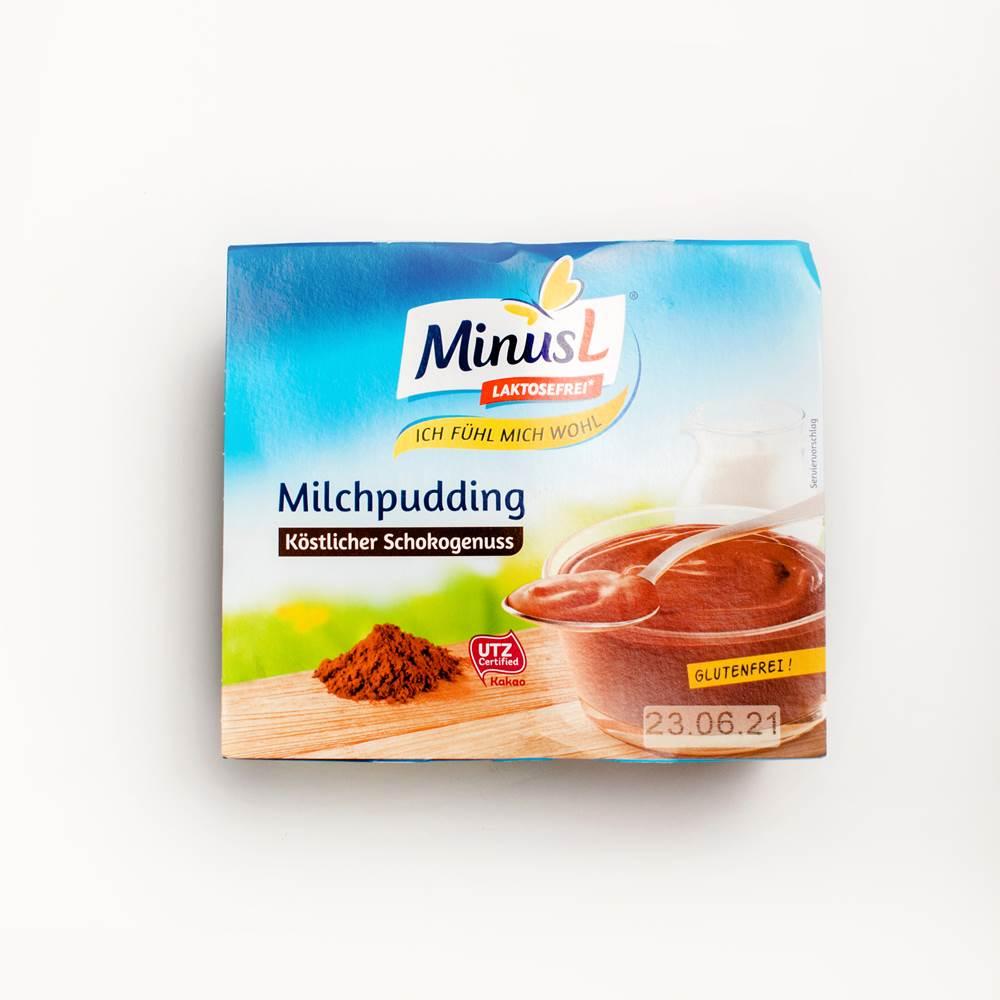 MinusL Milchpudding Schoko