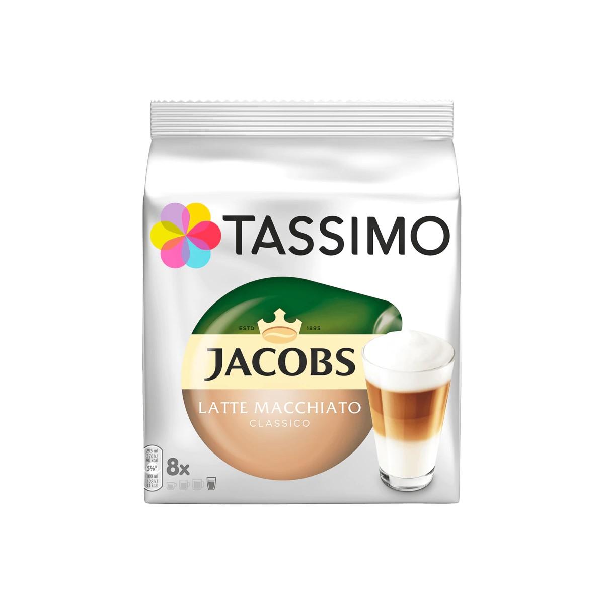 Tassimo Kaffeekapseln Jacobs Latte Macchiato Classico