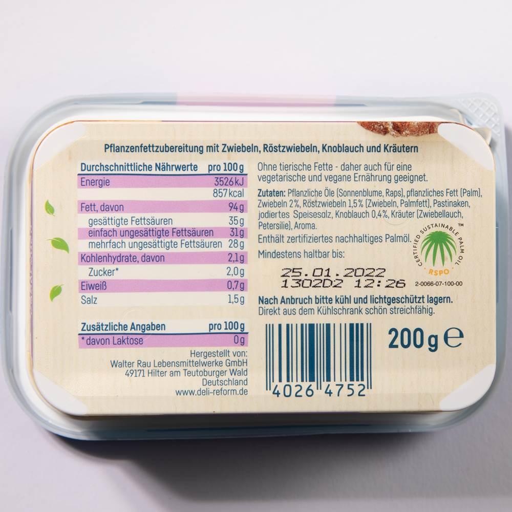 Buy Deli Reform rein pflanzliches Schmalz Knoblauch in Berlin with delivery