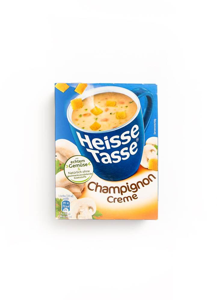 Erasco Heisse Tasse Champignon Creme mit Croutons