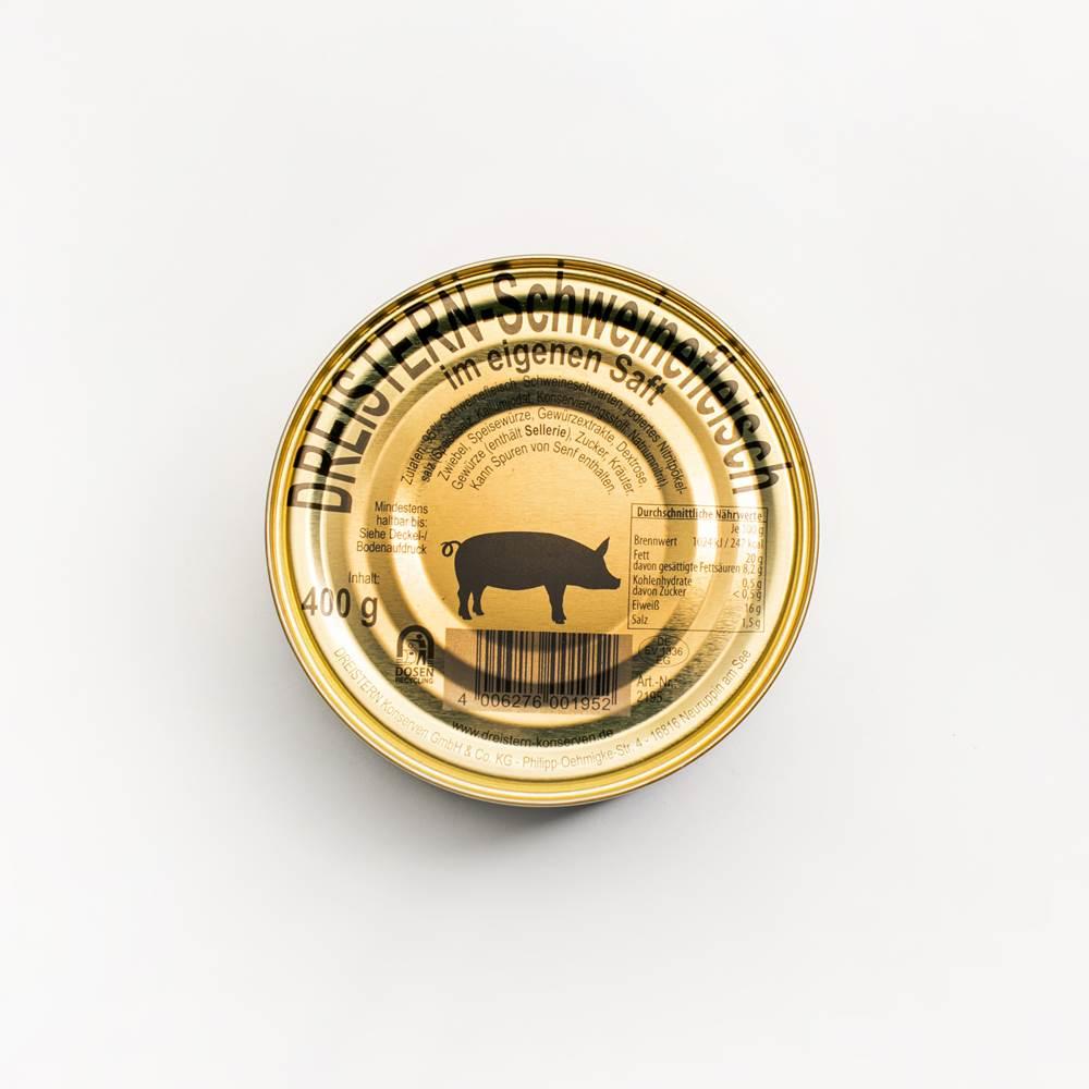Dreistern Schweinefleisch Gold