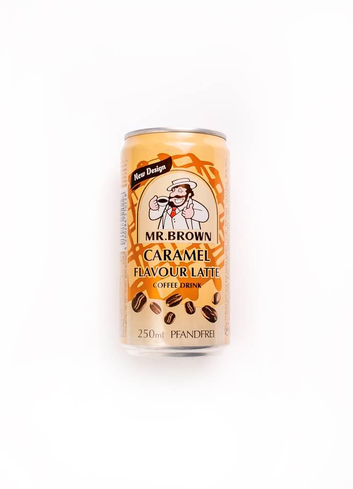 Mr. Brown Caramel Flavour Latte