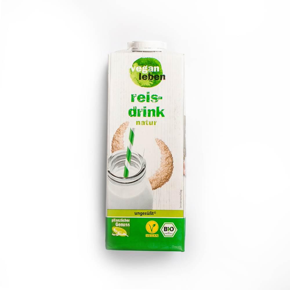Vegan Leben Bio Reisdrink