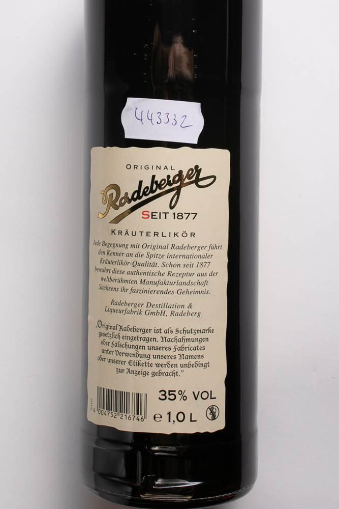 Buy Radeberger Kräuter 35% in Berlin with delivery