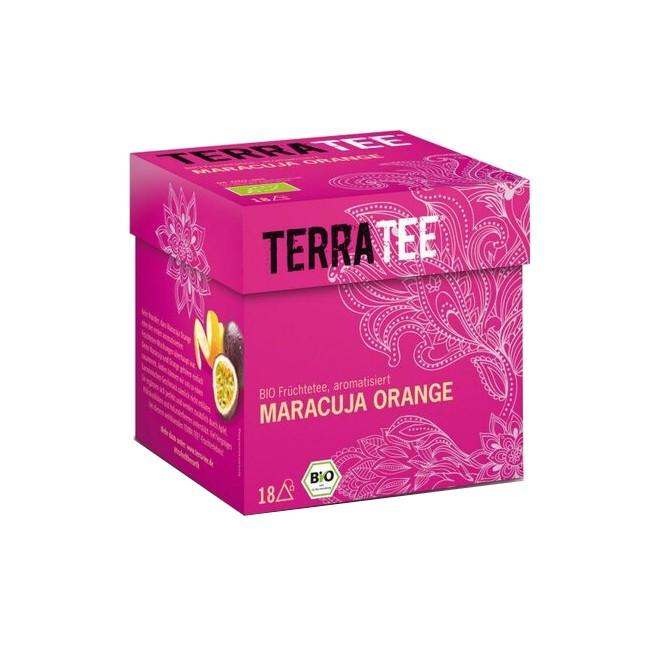 Terra Tee Bio Früchtetee Maracuja Orange