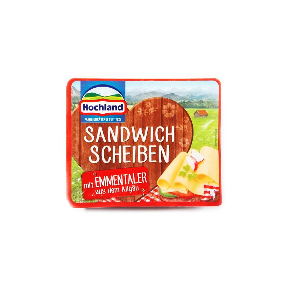 Hochland Sandwich Scheiben mit Emmentaler
