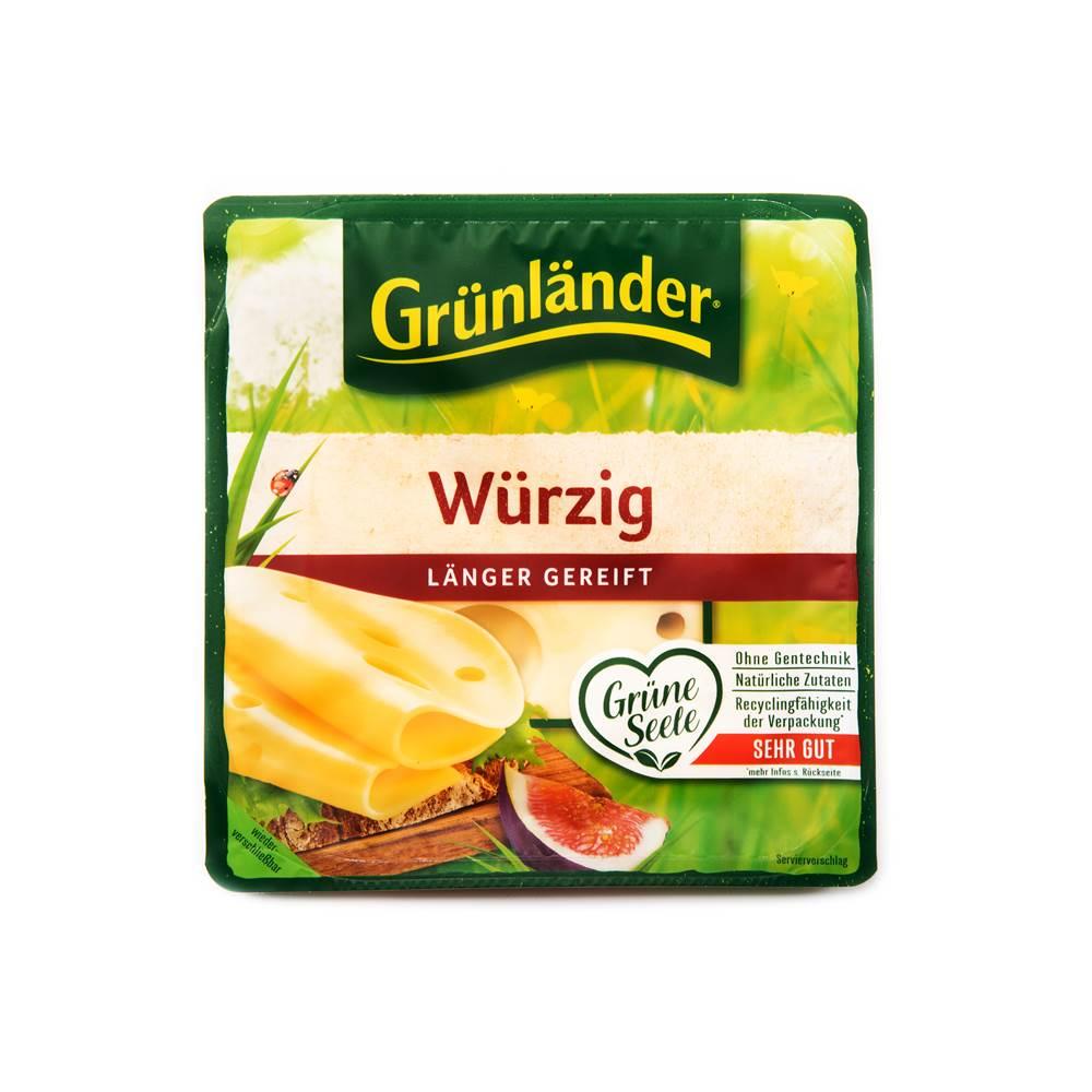Grünländer Käse Würzig