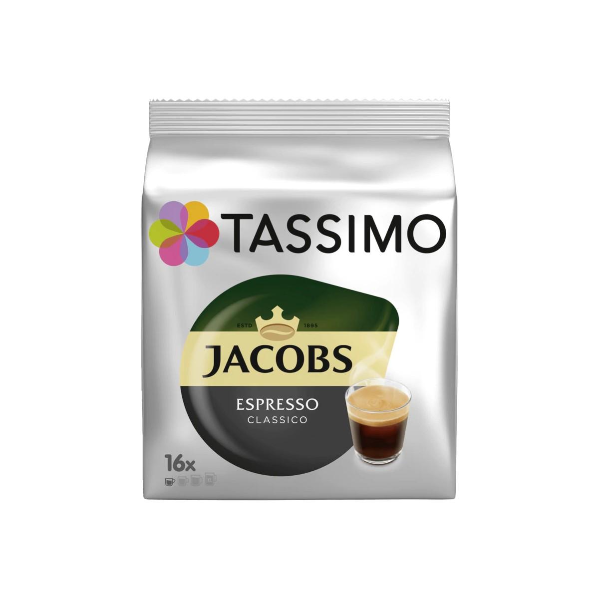 Tassimo Kaffeekapseln Jacobs Espresso classico
