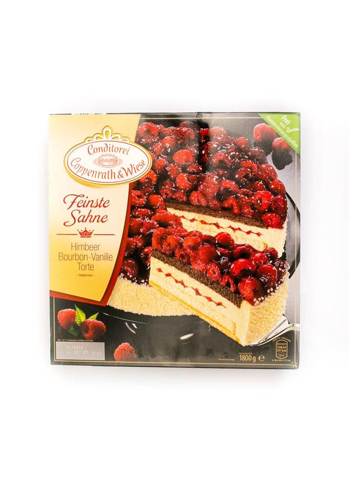Buy Coppenrath & Wiese Himbeer-Bourbon-Vanille-Torte TK in Berlin with delivery