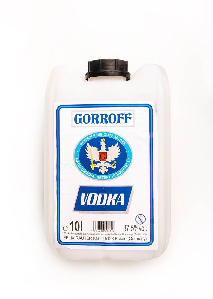Gorroff Vodka 37,5%