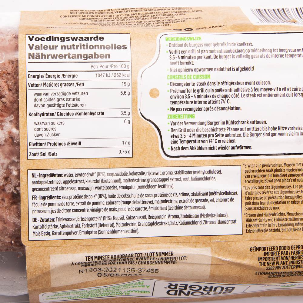 Buy Beyond Meat Beyond Burger in Berlin with delivery