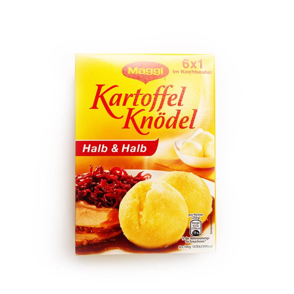 Maggi Kartoffel Knödel Halb & Halb
