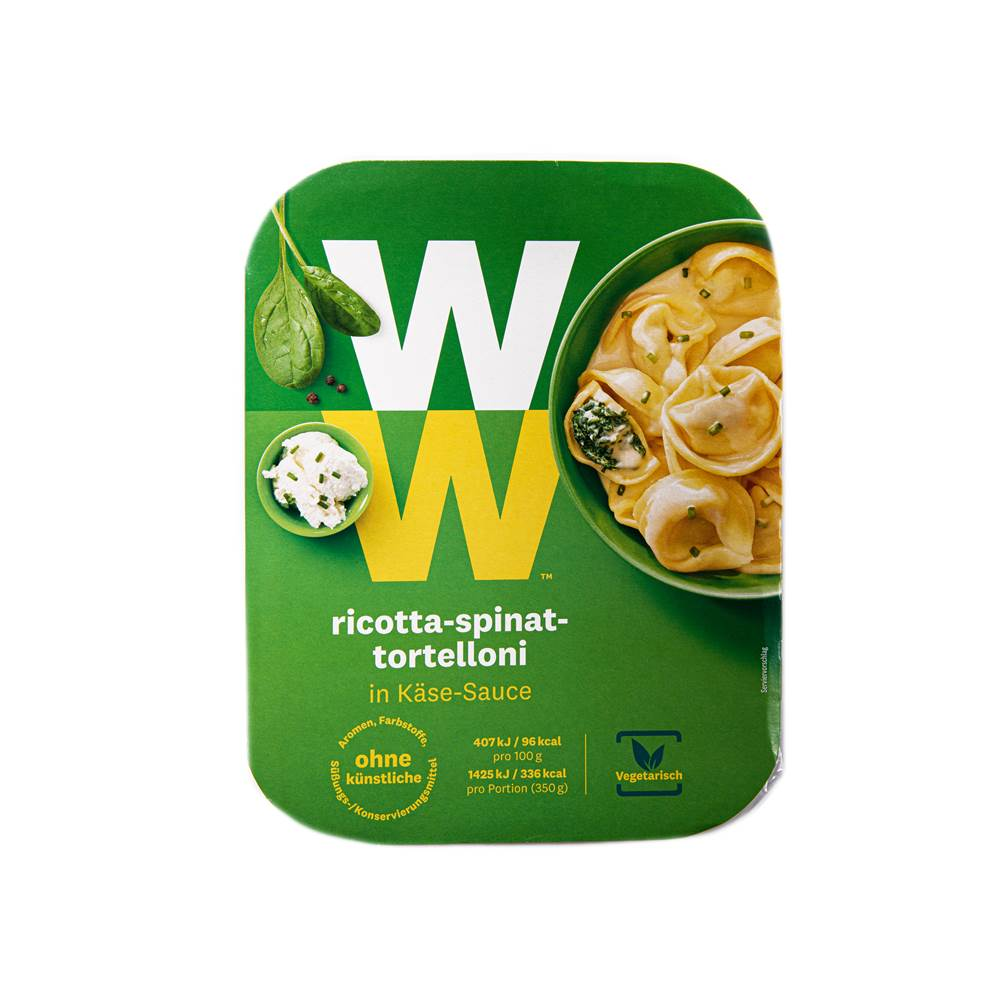 Buy Weight Watchers Ricotta Spinat Tortelloni in Berlin with delivery