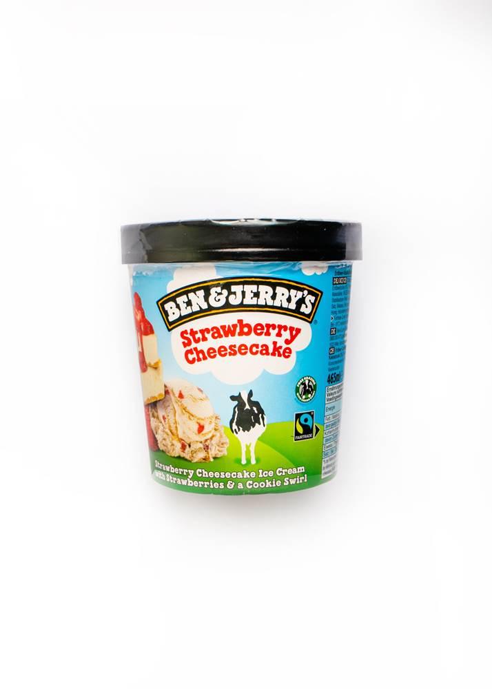 Ben & Jerrys Strawberry Cheesecake