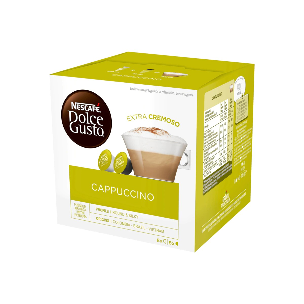 Buy Nescafé Dolce Gusto Cappuccino 16 Kapseln in Berlin with delivery