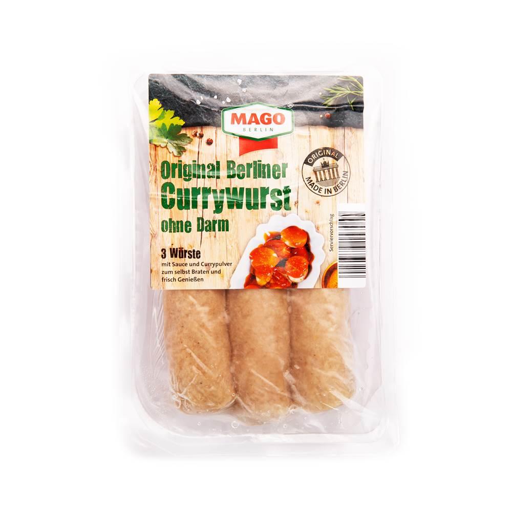 Mago Original Berliner Currywurst ohne Darm