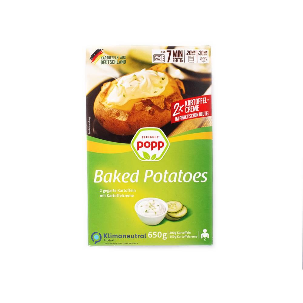 Popp Baked Potatoes mit Creme