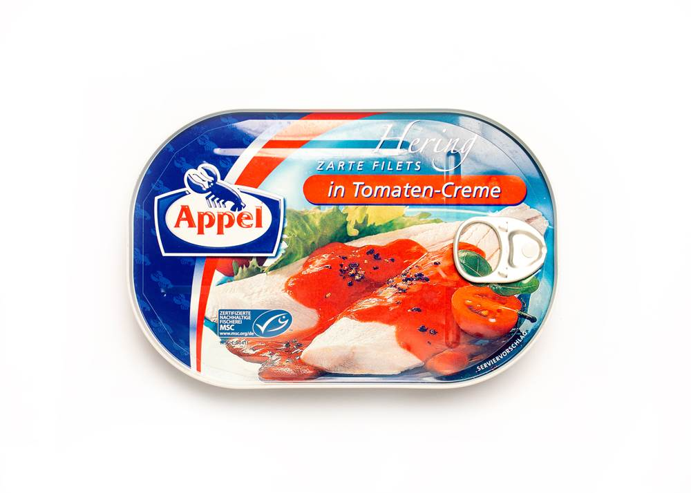 Appel MSC Heringsfilets Tomaten-Creme