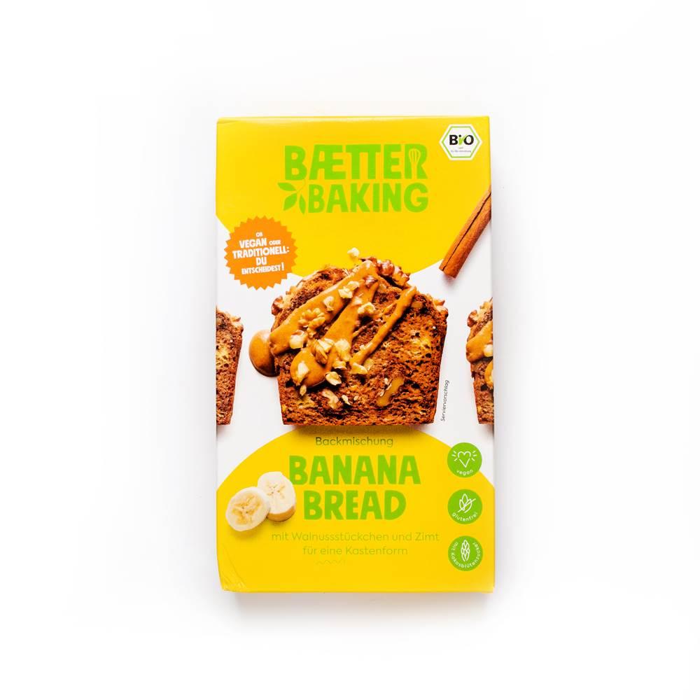 Baetter Baking Bio-Backmischung Banana Bread