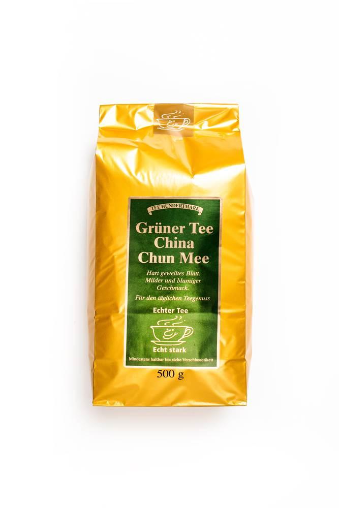 Hundertmark Grüner Tee Chun Mee