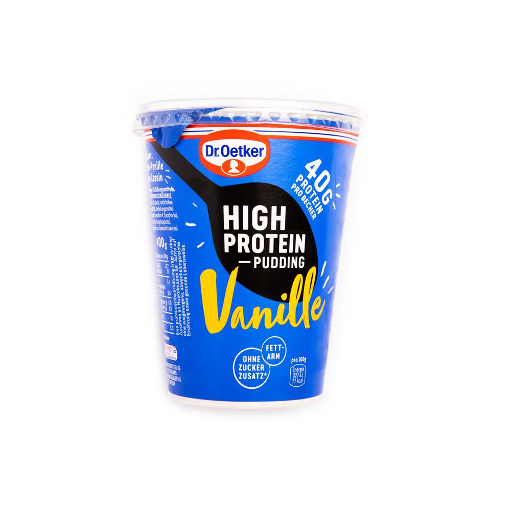 Dr. Oetker High Protein Pudding Vanille