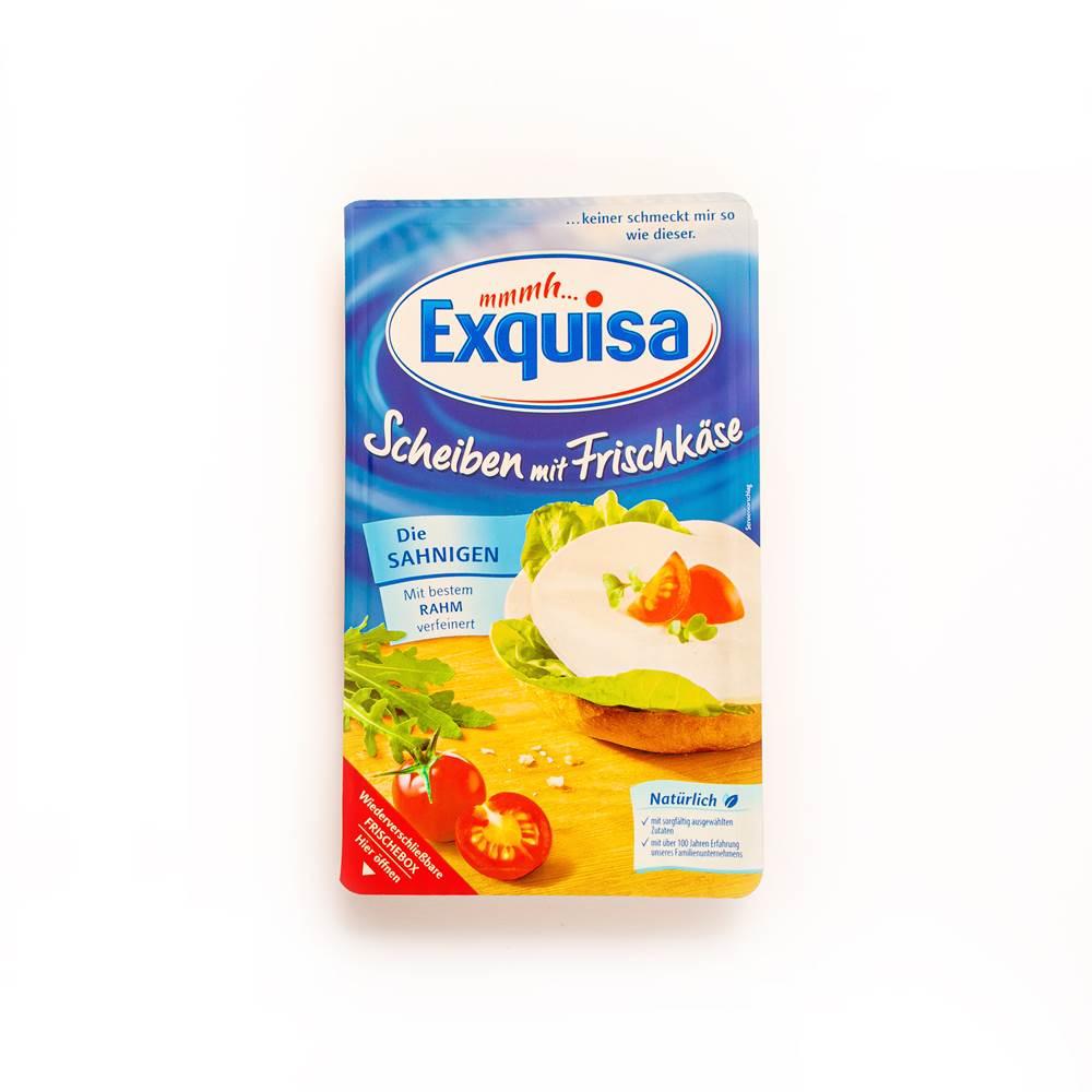 Exquisa Scheiben mit Frischkäse
