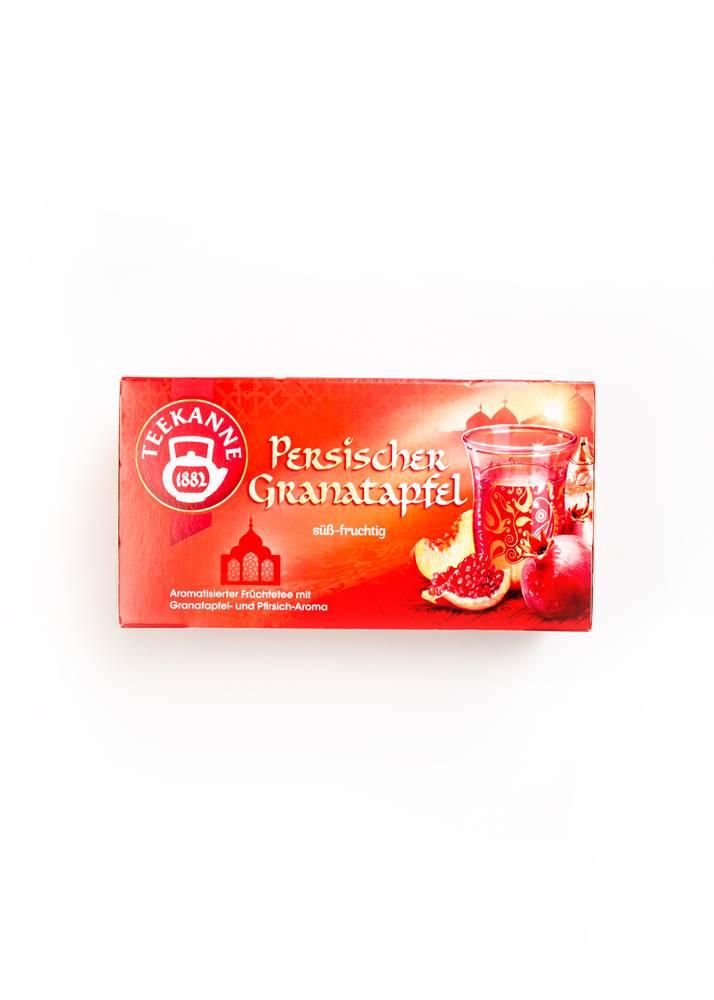 Teekanne Persischer Granatapfel aromatisierter Früchtetee