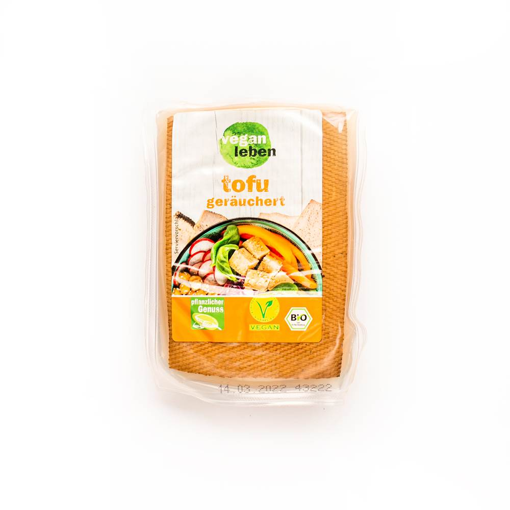 Vegan Leben Bio Tofu Geräuchert