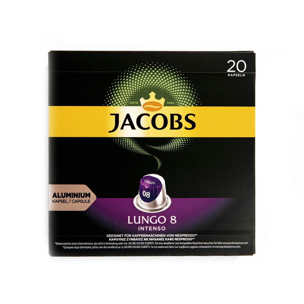 Buy Jacobs Kaffeekapseln Lungo 8 Intenso in Berlin with delivery