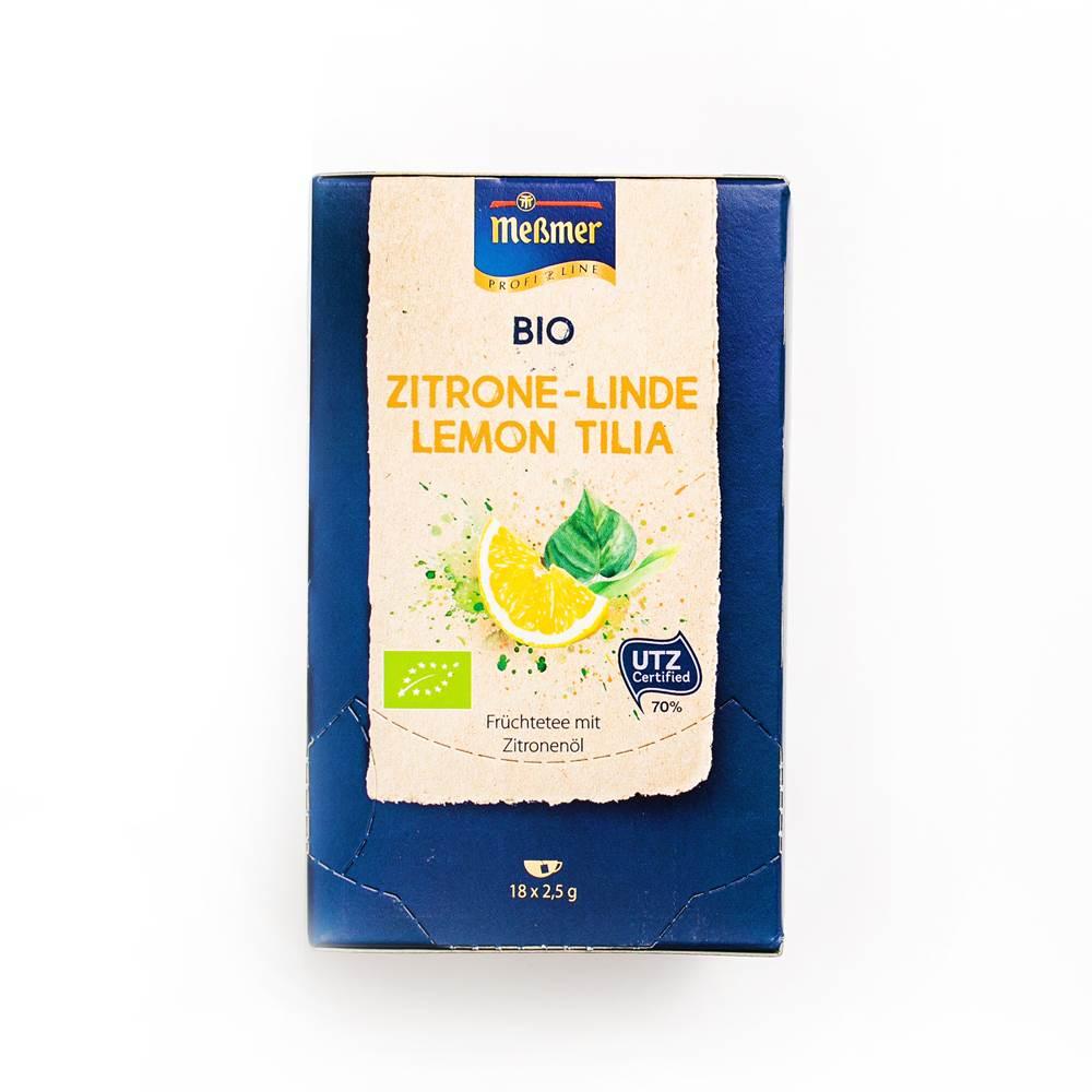 Meßmer Bio Zitrone-Linde Tee ´Profiline´