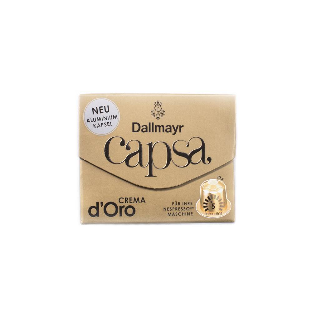 Buy Dallmayr Capsa Crema d'Oro Kapseln in Berlin with delivery