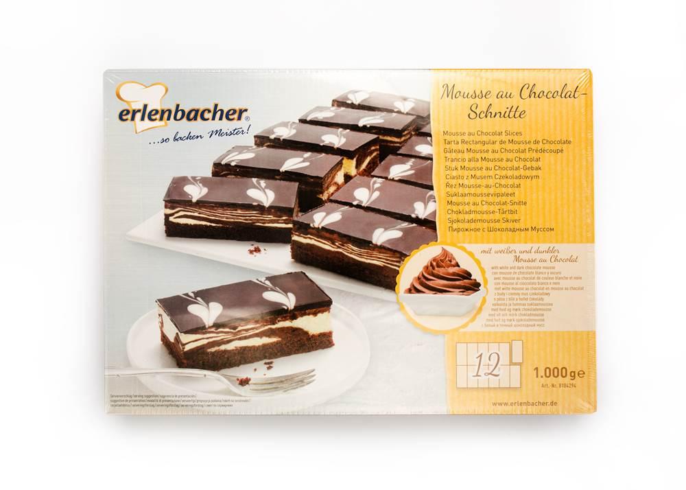 Buy Erlenbacher Dessert-au-Chocolat-Schnitte TK in Berlin with delivery
