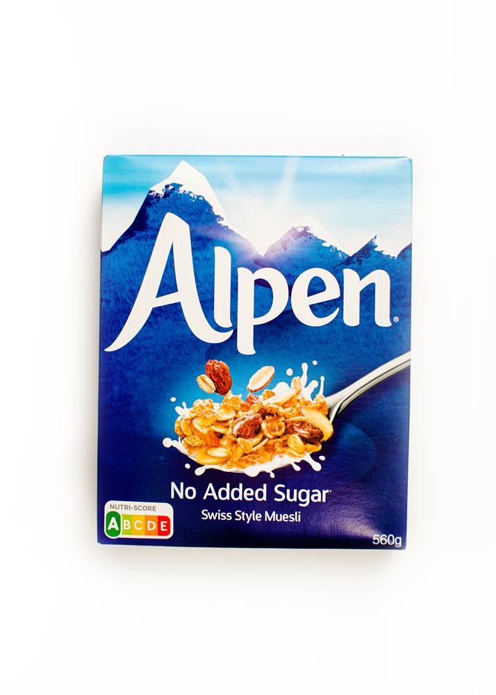 Alpenmüsli ohne Zucker