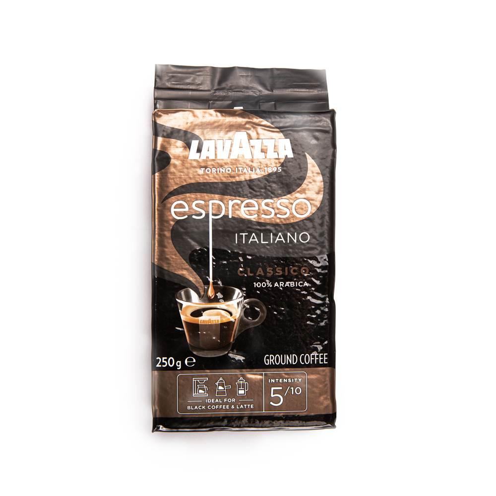Lavazza Caffè Espresso gemahlen