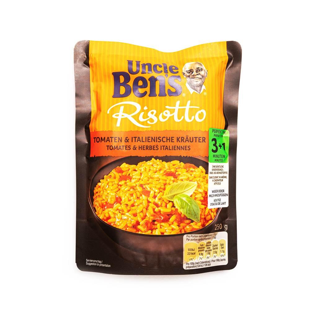 Uncle Ben's Express Risotto Tomate & Italienische Kräuter