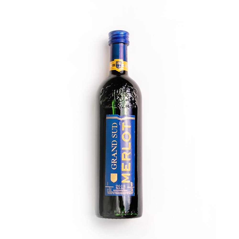 Grand Sud Merlot trocken, IGP Vin de Pays D´OC, Frankreich