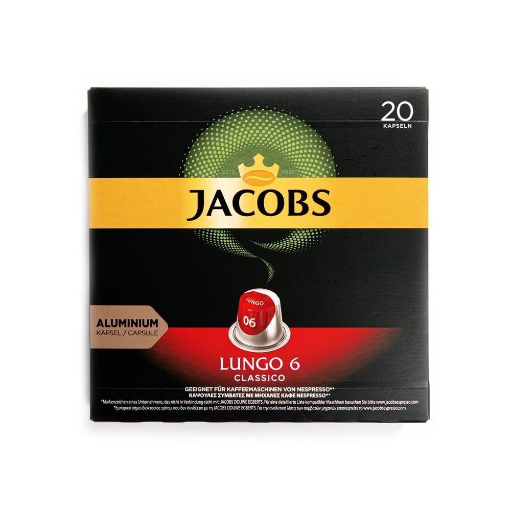 Buy Jacobs Kaffeekapseln Lungo 6 Classico in Berlin with delivery