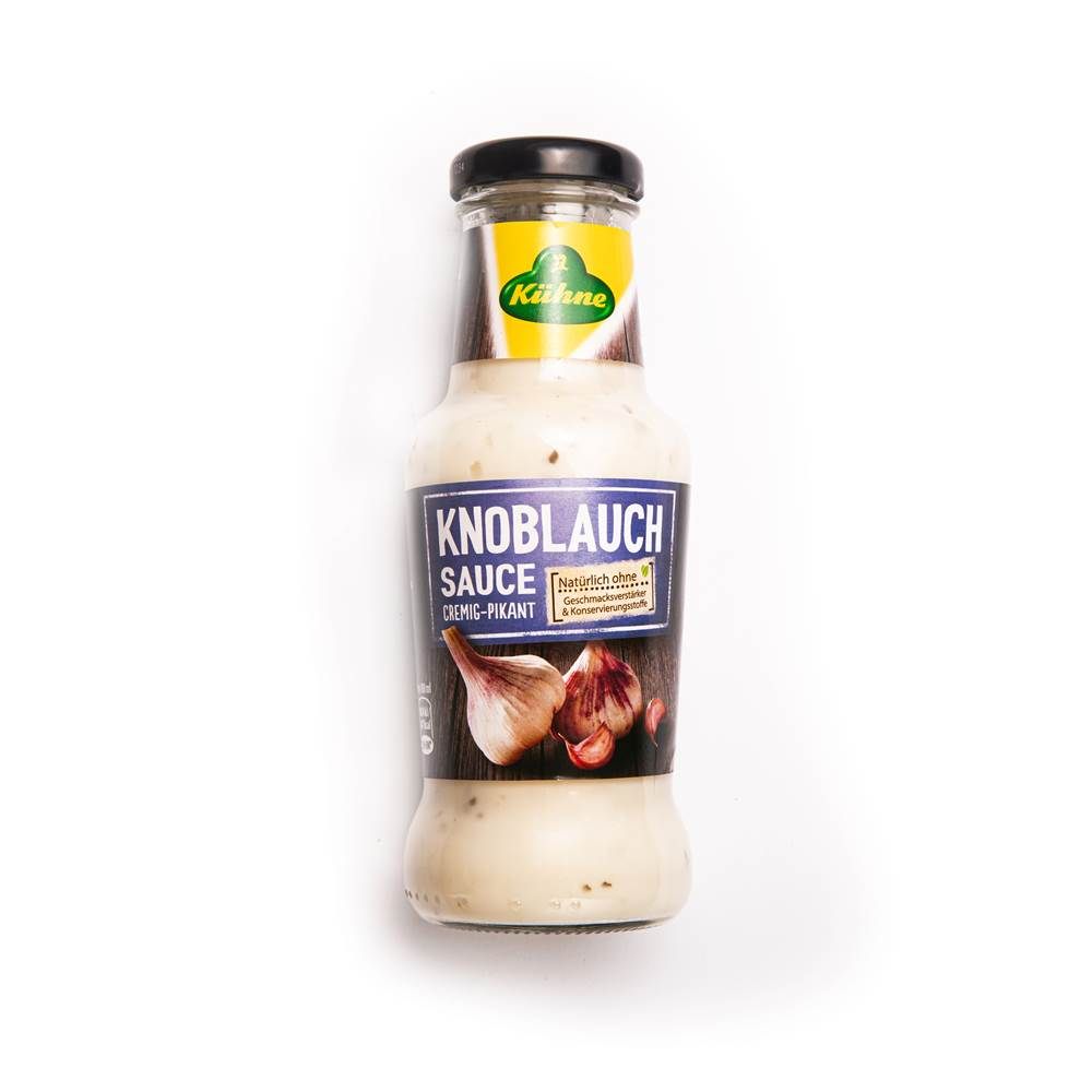 Kühne Knoblauch-Sauce