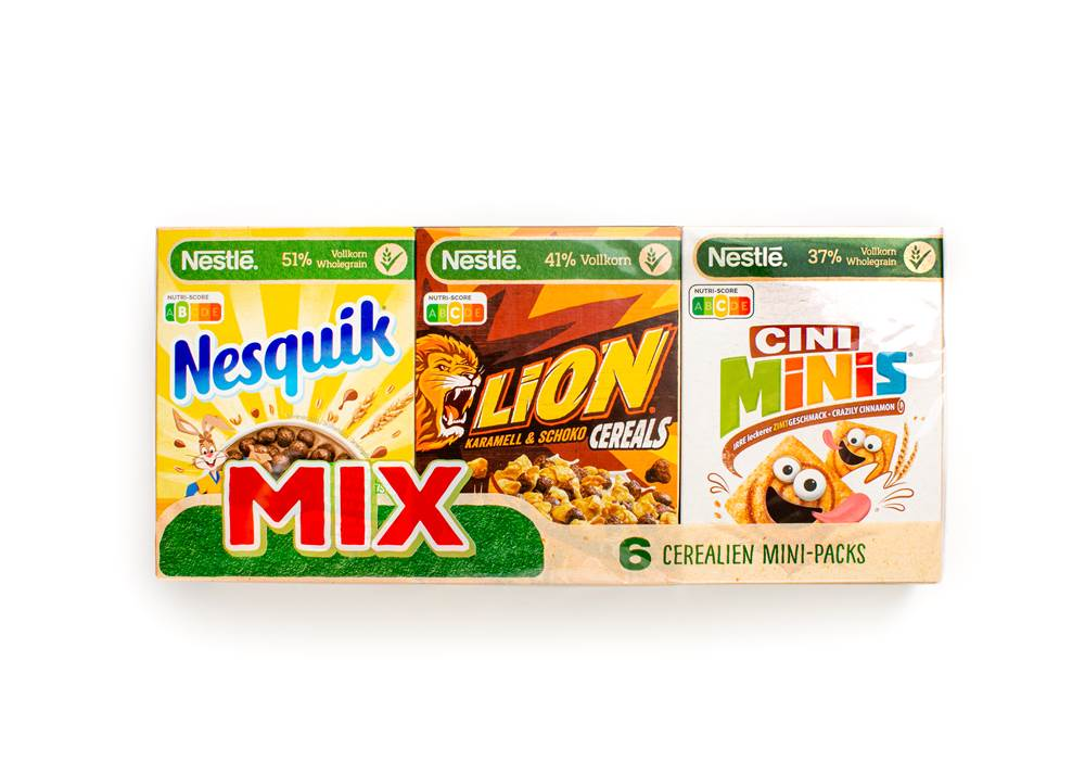 Nestle Cereal Mini Mix Pack