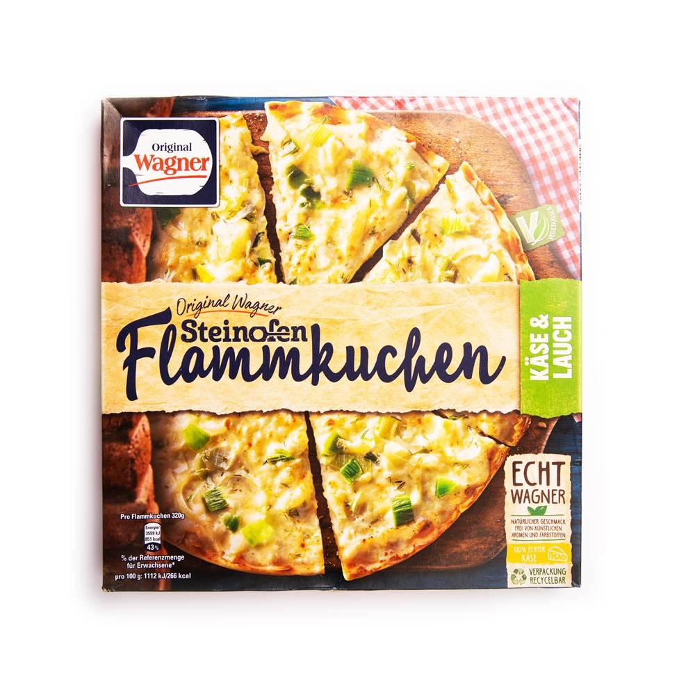 Wagner Steinofen Flammkuchen Käse & Lauch